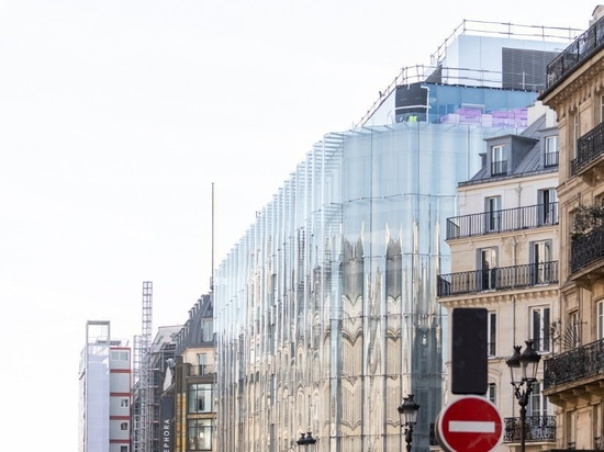 SANAA's rippling glass façade bookends 'la samaritaine' restoration in paris