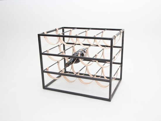 Sling Wine Rack by Coil + Drift