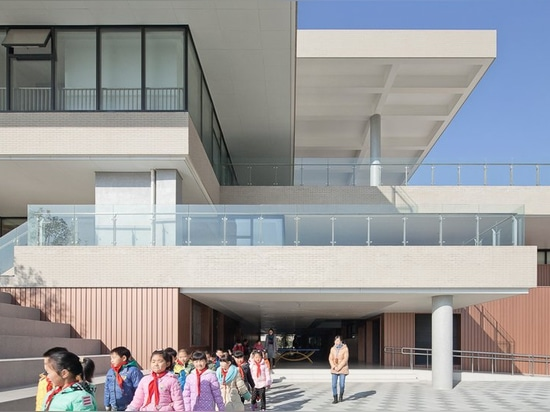 atelier Z + and D-plus studio encourage children to socialize in suzhou primary school