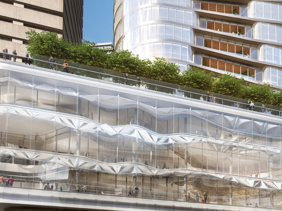 FJMT designs the new UTS central building at the university of technology in sydney