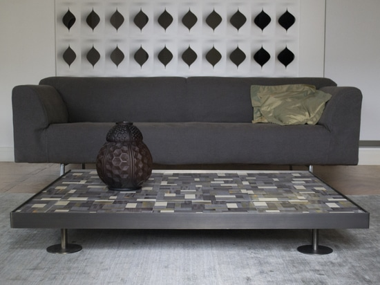 Coffee Table with hand made tiles