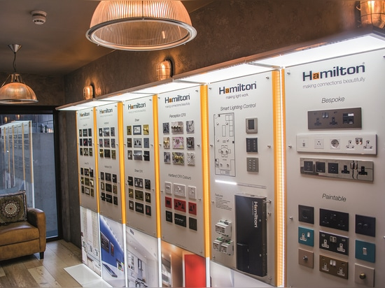 Hamilton's new London showroom is open for business!