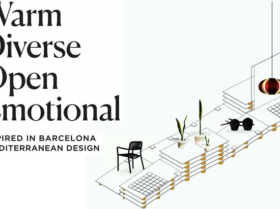 Inspired in Barcelona: Mediterranean Design exhibition at Milan Design Week 2019