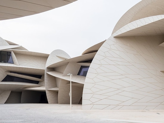 jean nouvel's national museum of qatar opens to the public