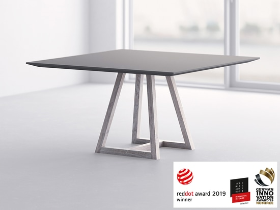 Red Dot Award: Product Design 2019 winner Table MARGO SQUARE