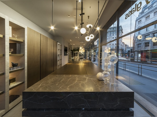 New flagship store in the heart of Milan - the city of international design