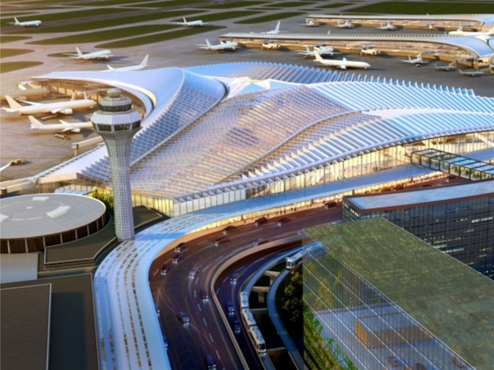 Jeanne Gang-led Studio ORD win New Global Terminal at O'Hare competition