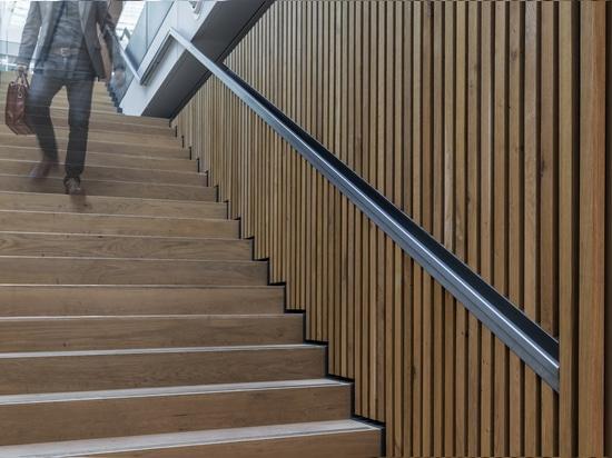 Dennebos Flooring FSC certified wooden flooring for stair