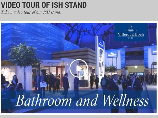 ISH 2019 Video Villeroy & Boch