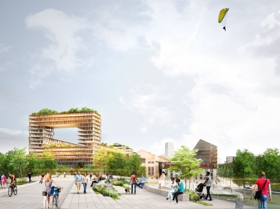 dominique perrault masterplans athletes' village for paris 2024 olympic games