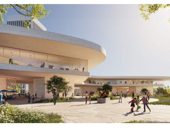 The latest renderings come after the current design was approved by the Los Angeles County Board of Supervisors. (Courtesy Atelier Peter Zumthor/The Boundary)