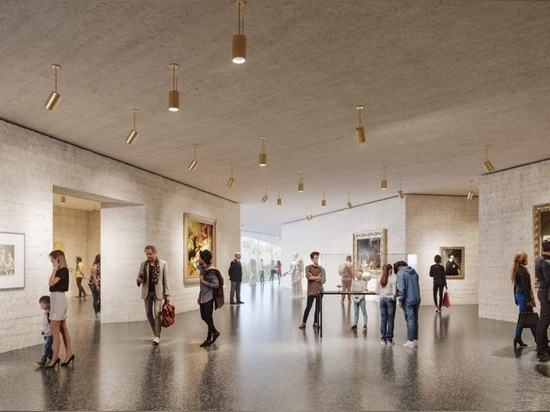 The galleries are designed as discrete concrete-walled rooms filled with an eclectic mix of permanent collection items. (Courtesy Atelier Peter Zumthor/The Boundary)