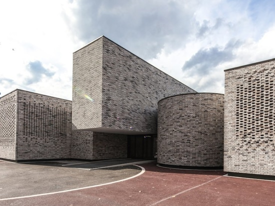 The Elancourt Music School is located in the Saint-Quentin-en-Yvelines district 20 miles outside of Paris. (Luc Boegly)