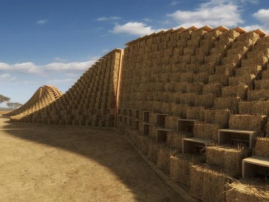 Straw Bale School In Malawi, East Africa