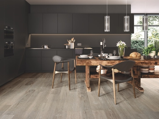 Wood-effect porcelain stoneware: four different solutions for designers