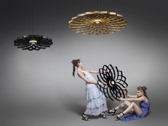 Statement lighting collection - Dahlia by Jasper van Grootel