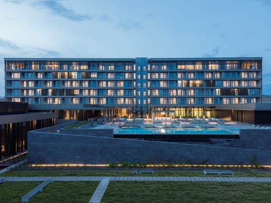 A Complete Harmony with the Context: Congo Kintele Congress Centre and Resort Hotel