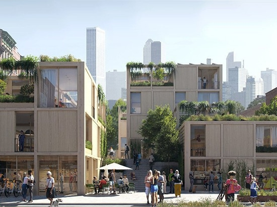 SPACE10 + EFFEKT envision 'urban village project' as a sustainable, shared living community