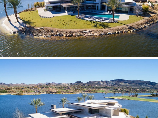 This House In Las Vegas Is Like Living On An Island In The Desert