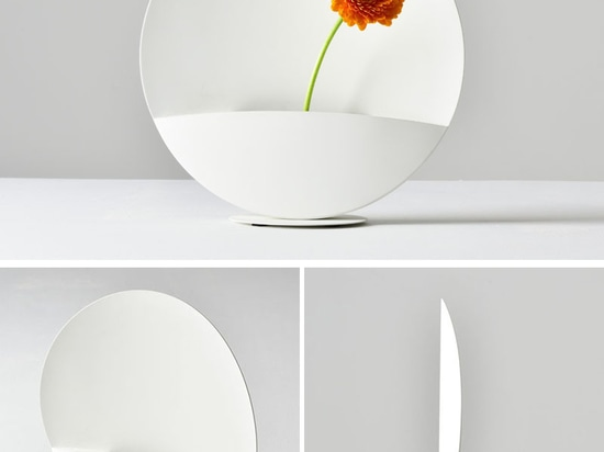 A Strong Magnet Lets Users Change The Position Of This Vase