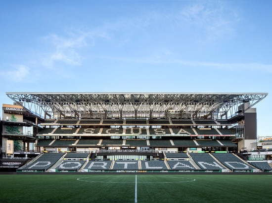 The new east side expansion gives the stadium an additional 4,137 seats. (Jeremy Bittermann)