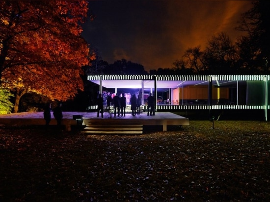 The 2014 Farnsworth House INsite project by Luftwerk (Photography by Kate Joyce, Mel and Phil Theobald, Tom Rossiter, courtesy Luftwerk)