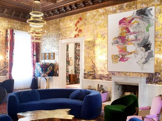 Flamboyant Exuberant Palace