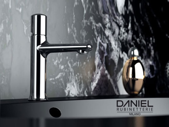Fusion faucets collection by Daniel Rubinetterie 2019