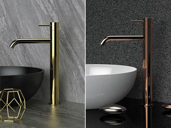 High wash basin single lever mixer Tokyo