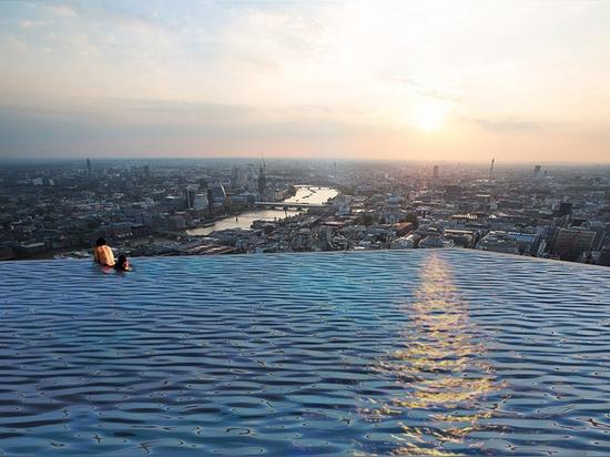 London's 360 Degree Infinity Pool