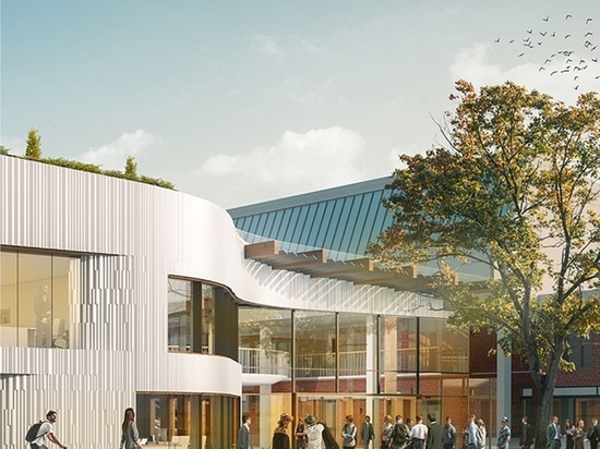 UNStudio wins competition for Business School for the Creative Industries at UCA Epsom