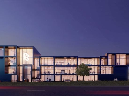 Iconic office building in Maasdijk by MoederscheimMoonen Architects