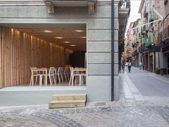 La Brasera's Terrace