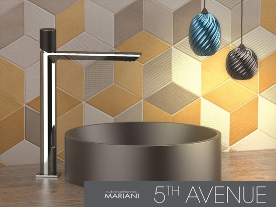 5th Avenue faucets collection Rubinetterie Mariani