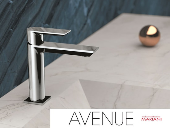 Avenue faucets collection 2019 Rubinetterie Mariani