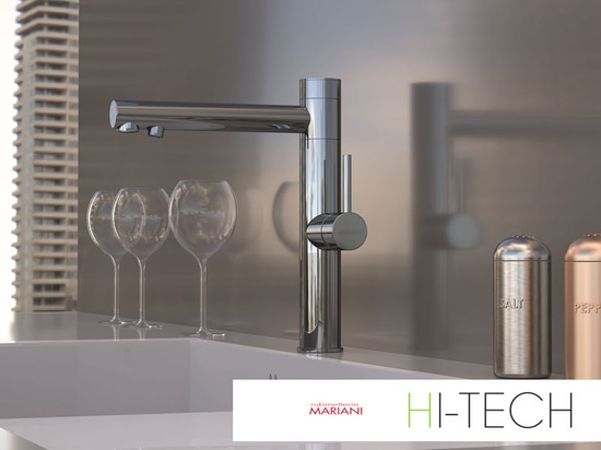 New hi-tech faucets from Rubinetterie Mariani