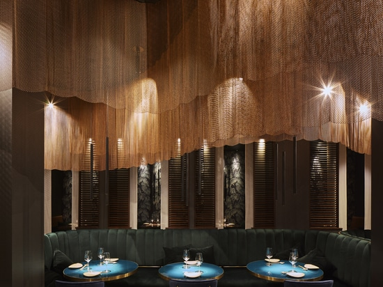 Ergon collections for Nishiki Restaurant: food and design a perfect blend