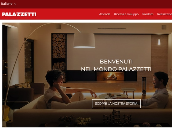Welcome to the world of Palazzetti