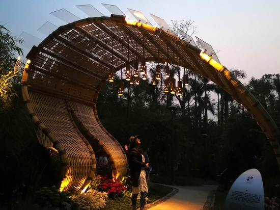 Bamboo Tide Pavilion / Shenzhen Beryl Environmental Art Design