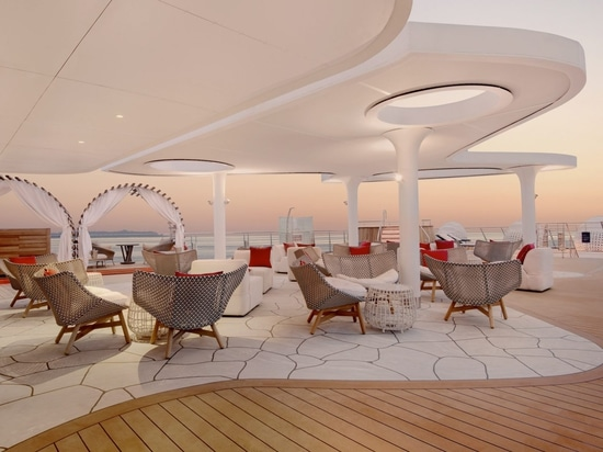 BG Studio take design cues from reptiles for a luxury cruise ship sailing the Galápagos Islands