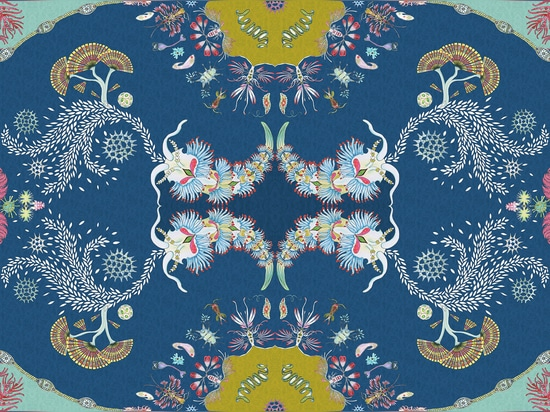 Paisley Paramecium Wallpaper