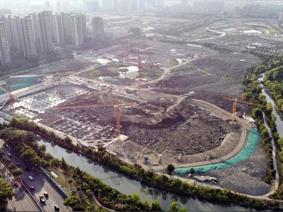 Full development construction progress
