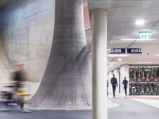 ector hoogstad architecten builds the world's biggest bicycle parking in utrecht