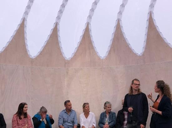 simon hjermind jensen's munkeruphus 'observatory' responds to its natural setting