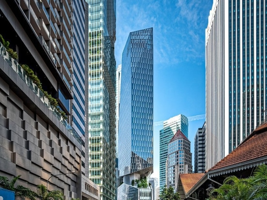 KPF-designed tower in singapore promotes 'sustainable urbanism'