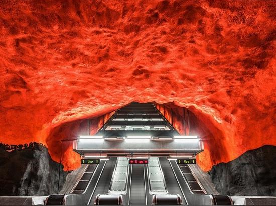 Photo Book Explores The Unique Stockholm Subway System