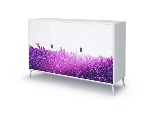 Deryl white cabinet