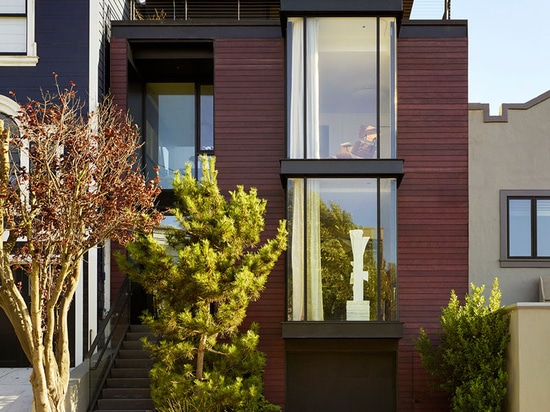 This House In San Francisco Presents A Modern Face To The Street