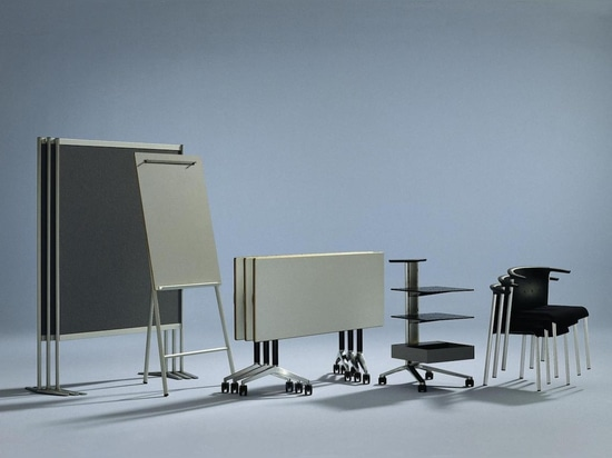 A small number of components, mobile and compact – seamless solutions to boost teamwork and creativity. Photos Wilkhahn