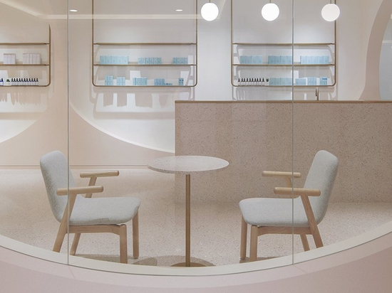 penda china designs pink caves of beauty for narcisse salons in beijing